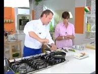 La quiche gluten free di Daniele Persegani, con zucchine, certosa e gorgonzola, è una torta salata adatta anche ai celiaci.