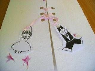 Desenhos de convites de casamento divertidos - Innatia.com
