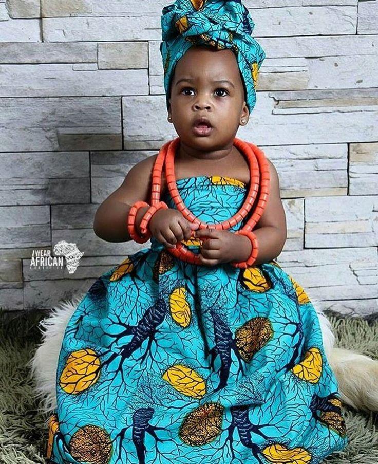 pagne et foulard enfants pagne enfant fille pagne wax ankara african child african girl african. Black Bedroom Furniture Sets. Home Design Ideas