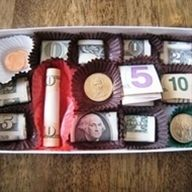 For the next time someone asks for money instead of a gift... think teenagers. The disappointment when they unwrap a candy box, only to be surprised when they open the candy box! - Click image to find more diy & crafts Pinterest pins
