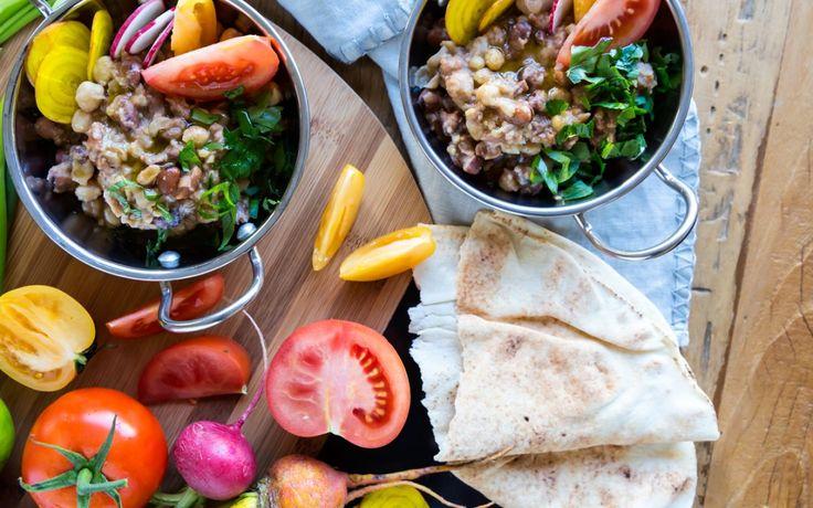 Ful Medamas – Fava Bean & Chickpea Porridge