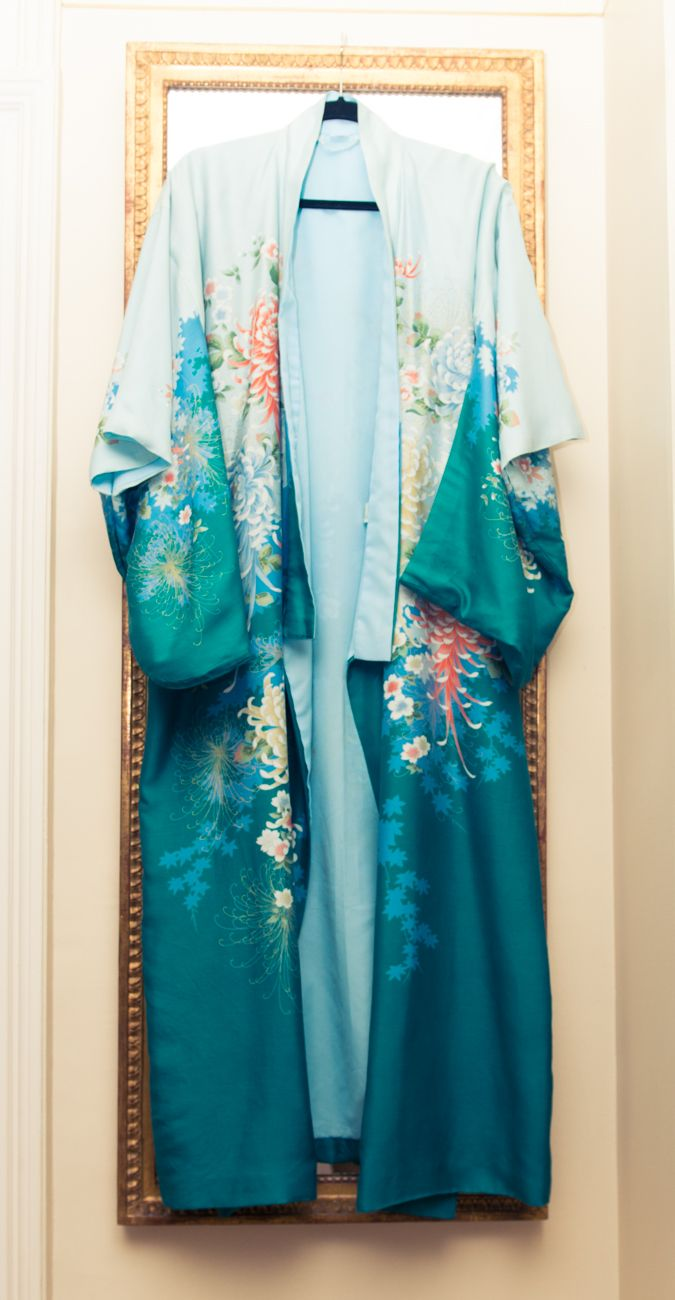 "Closet of Alessandra Lanvin - Founder & Designer, Aperlai Paris ""[This robe was] a gift from Japan."""
