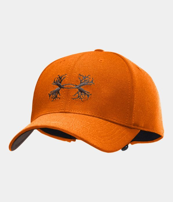 under armor orange hat