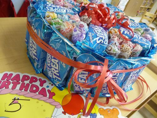 packaged birthday treats for school | Birthday treats