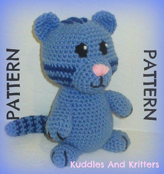 Kuddles And Kritters is pleased to announce that the original Tigey Pattern is now available for purchase on Etsy! =)