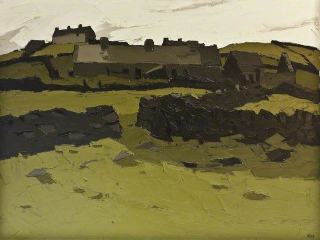 Llandonna by Kyffin Williams