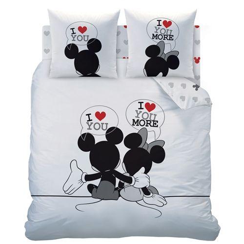 cool Housse de couette Disney Mickey & Minnie The End 240 x 220 cm Check more at http://casadecoration.com/produit/housse-de-couette-disney-mickey-minnie-the-end-240-x-220-cm/