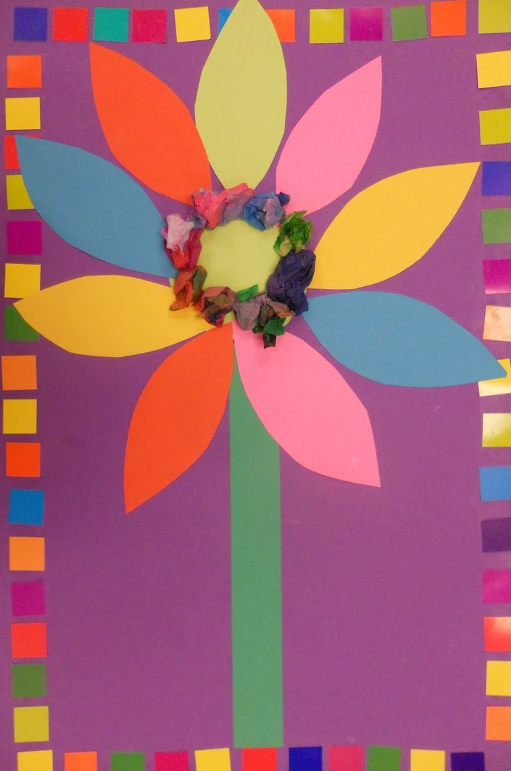 Kindergarten Flower
