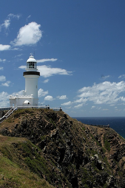 Light House of Byron Bay, Queensland, Australia.I want to visit here one day.Please check out my website thanks. www.photopix.co.nz