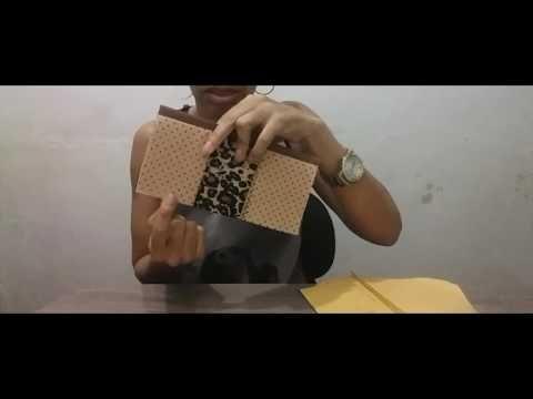 (482) Carteira patchwork crayz com espaço para celular. - YouTube