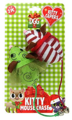 Christmas Duo Mice Play Pack $4.99