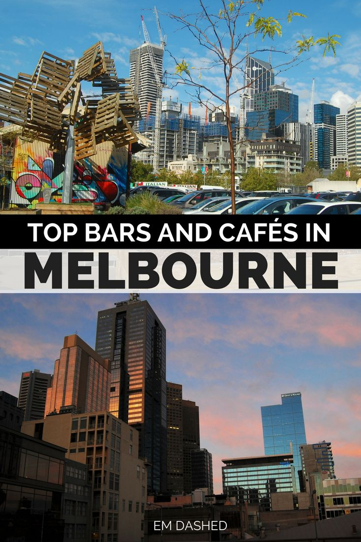 Finding a great bar or café in Melbourne is like finding hay in a haystack -- but that can also make choosing a spot rather overwhelming. Click through for my suggestions on where to eat and drink in Melbourne, Australia after spending seven months living and working in the city.
