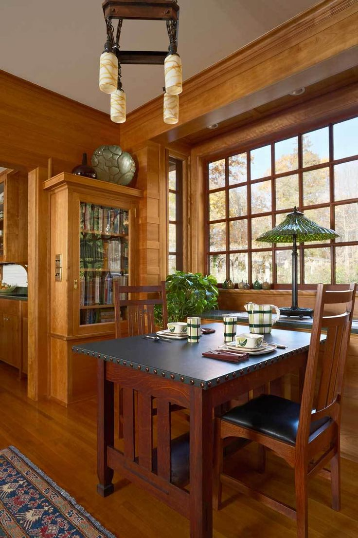 Craftsman style dining room - A Kitchen Of Art And Craft