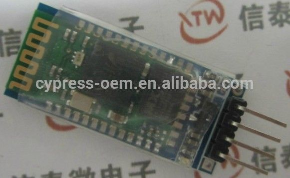 Arduino wireless Bluetooth serial transmission module of wireless serial communication HC-06 subordinate machine Bluetooth