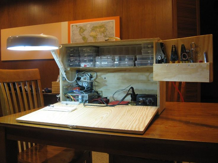Brian Z's Awesome Blog: Mobile Electronics Workbench