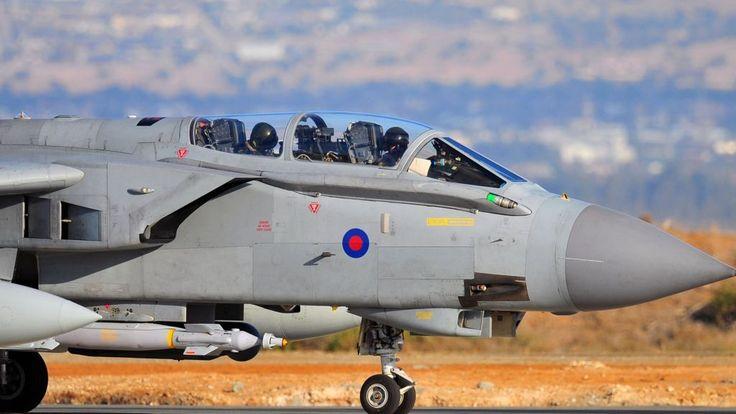 Syria air strikes: RAF Tornado jets carry out bombing - BBC News