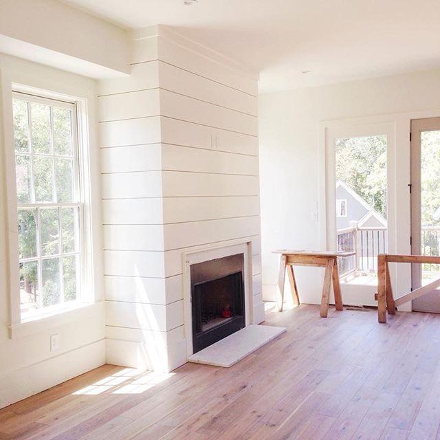 A Modern Farmhouse Fireplace Master Bedroom