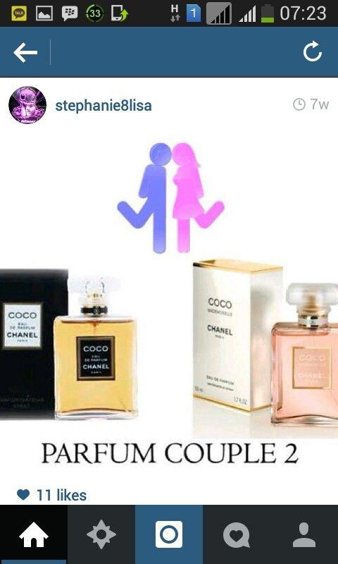 Couple perfume