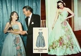 ann lowe gowns | Olivia de Havilland -Oscar winning Actress wearing Ann Lowe dress# ...
