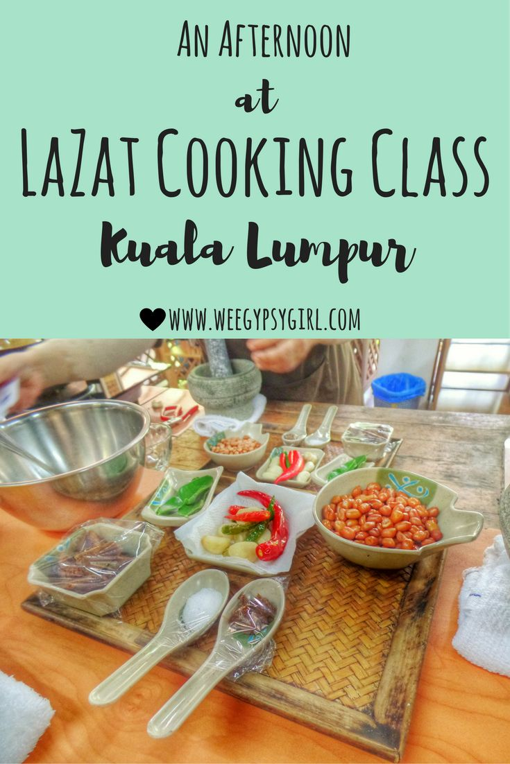 If you're in Kuala Lumpur and hoping to learn more about Malaysian cooking, I would thoroughly recommend LaZat Cooking Class.