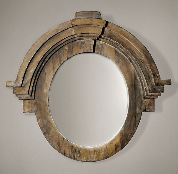 Best Photo Gallery For Website Mansard Mirror from Restoration Hardware like the heft but can ut help but seeing a man with a Napoleon Hat on
