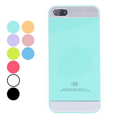 EUR € 2.29 - cas simple disque de couleur pleine de conception pour l'iphone 5/5s (couleurs assorties), livraison gratuite pour tout gadget!...