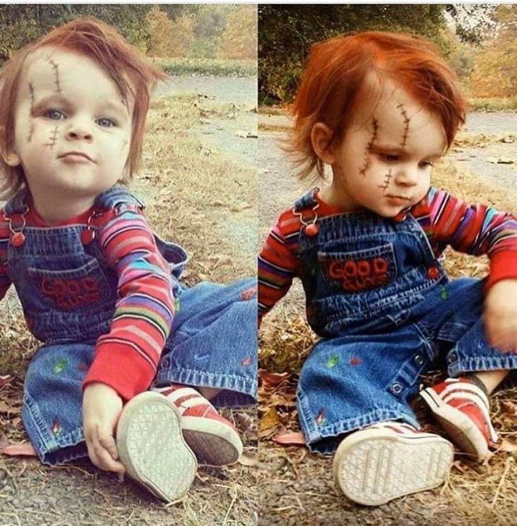 Pin by Janell on Costumes Toddler chucky costume, Chucky