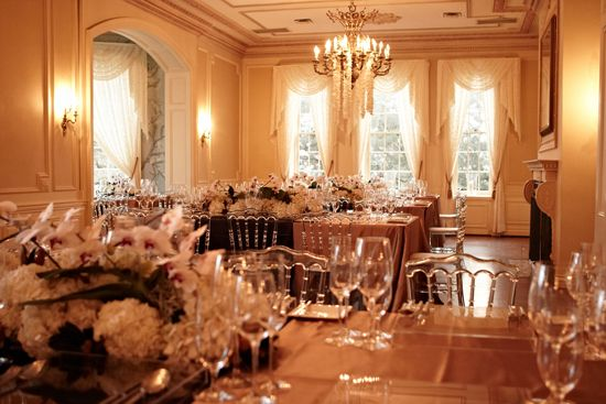 Graydon Hall manor -- equally exquisite interior! Photography courtesy of Pear Studios.