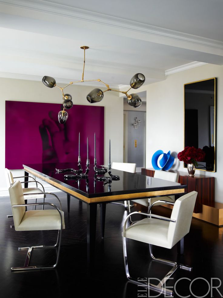 195 best Dining Rooms images on Pinterest House interiors, Elle - new home decorating ideas