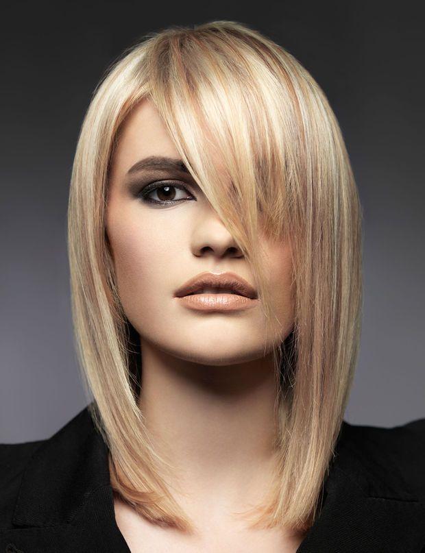 Le carré long sophistiqué de Véronique Dumazet - Coupe de cheveux : 100 idées coiffures pour trouver votre style - Femme Actuelle