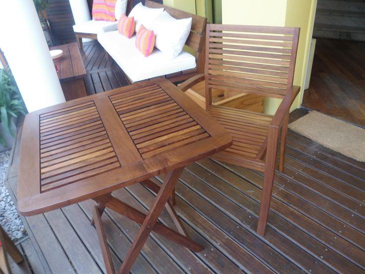 21 best images about mesas de madera para exterior on - Mesas de madera plegables para exterior ...
