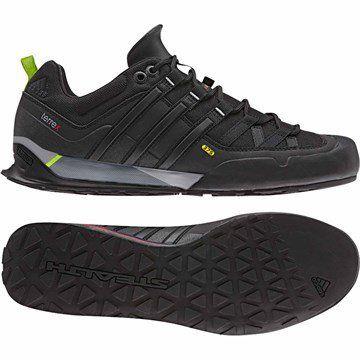 Adidas Terrex Solo Traxion Blue/Black Mens Climbing Shoes - http://shoes.goshopinterest.com/mens/boots-mens/hiking-boots-mens/adidas-terrex-solo-traxion-blueblack-mens-climbing-shoes/