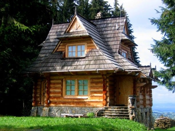 Traditional Wooden House In Zakopane Favorite Places