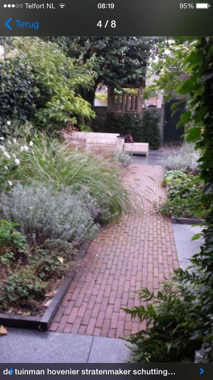 Voorbeeld sfeervolle tuin