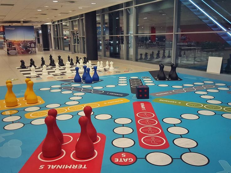 Jumbo-size Chess and Ludo Game at the Václav Havel Airport Prague  #prague #travel #jumbo #game #chess #ludo #size #interior #galaxys6