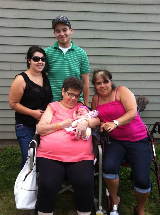 The 4 generations with daddy #Pin By:Pinterest++ for iPad#