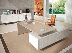 Designer Chefzimmer  MODI mit Echtholzfurnier