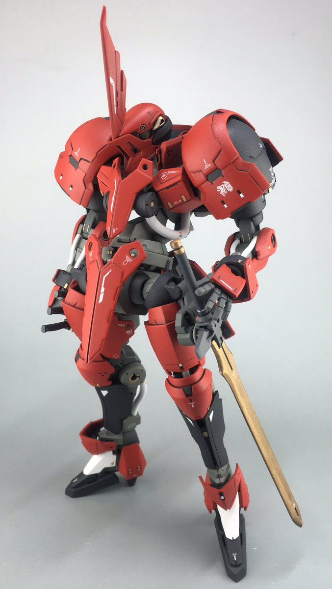 1/100 Grimgerde Knight - Customized Build