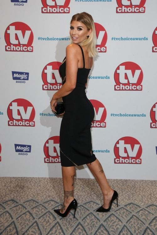 Olivia Buckland in Louboutins! Stunning!