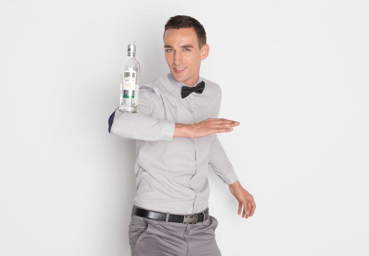 Marek Posłuszny Lubuski Vodka, bartender, flair