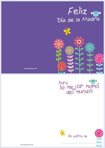 tarjetas dia de la madre - Buscar con Google