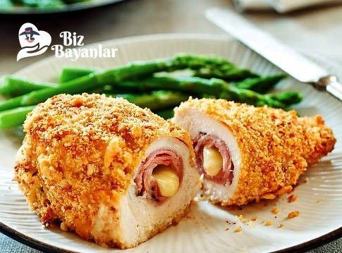 Cordon Blue Tarifi Bizbayanlar.com  #GaletaUnu, #Kaşar, #Sağlam, #TavukGöğsü, #Yumurta,#TavukYemekleri http://bizbayanlar.com/yemek-tarifleri/et-yemekleri/tavuk-yemekleri/cordon-blue-tarifi/