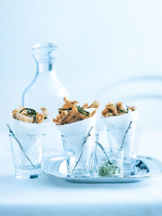 ... chicken pieces with tarragon salt at your next party #chickenstock