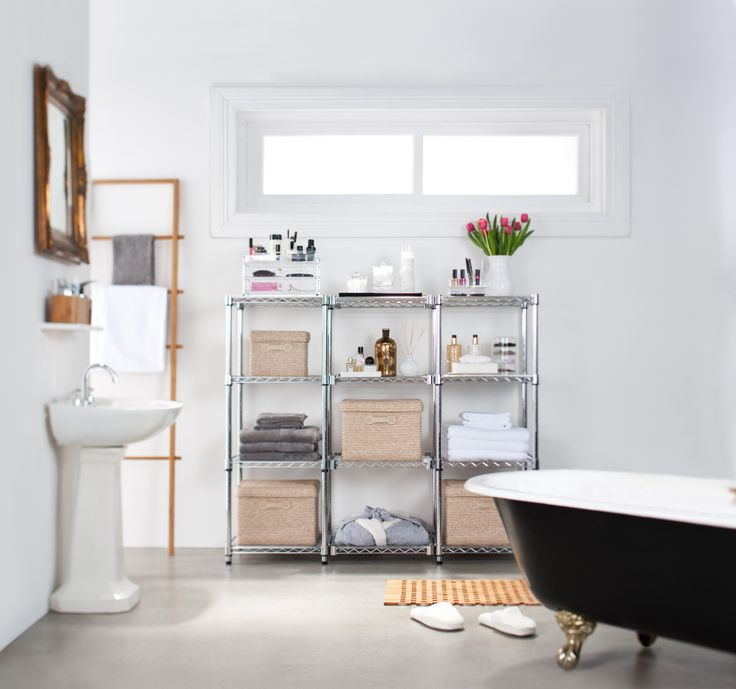 Innovative Light Aesthetic Of Open Storage, Says Neilson Howard On The Other Hand, Storage Is More Essential In A Master Bath, Where Some Less Attractive Toiletries,