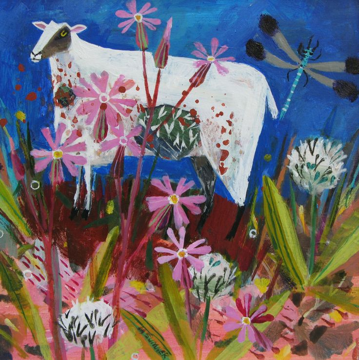 Meadow Sheep - Mary Sumner