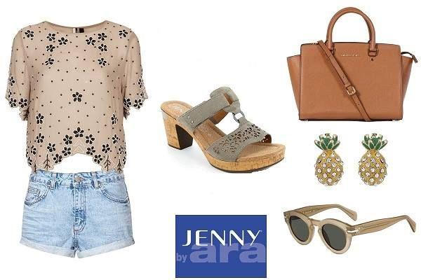 Be on Summer Mood... with #JennybyAra !!  #summer #stylish #Arashoes
