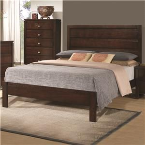 Cameron Queen Bed with Panel Headboard and Footboard