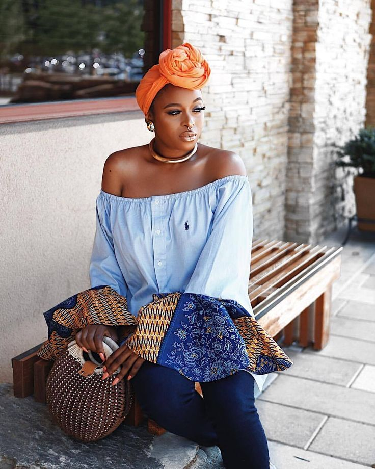 What is a goddess? A goddess is not a perfect woman, it's a woman who though adored for her beauty can show others their beauty too. Then your a true goddess  __ Picture: @bysirarthur Top, head wrap and necklace: @fanmdjanm Bag: @zaful Jeans