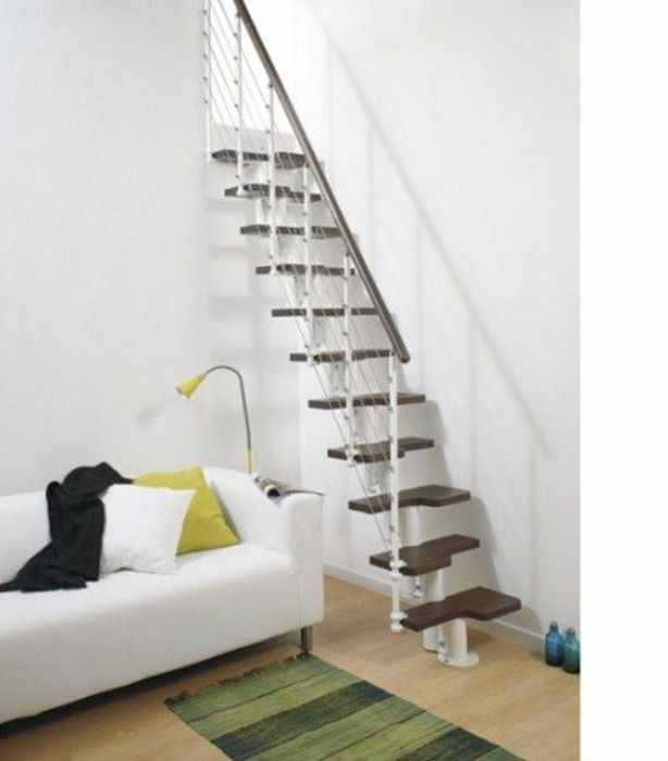 les 25 meilleures id es concernant escalier gain de place sur pinterest escalier de meunier. Black Bedroom Furniture Sets. Home Design Ideas
