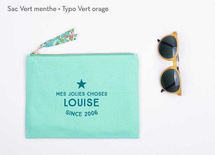 Pochette personnalisée Trendy - Idée cadeau originale et chic